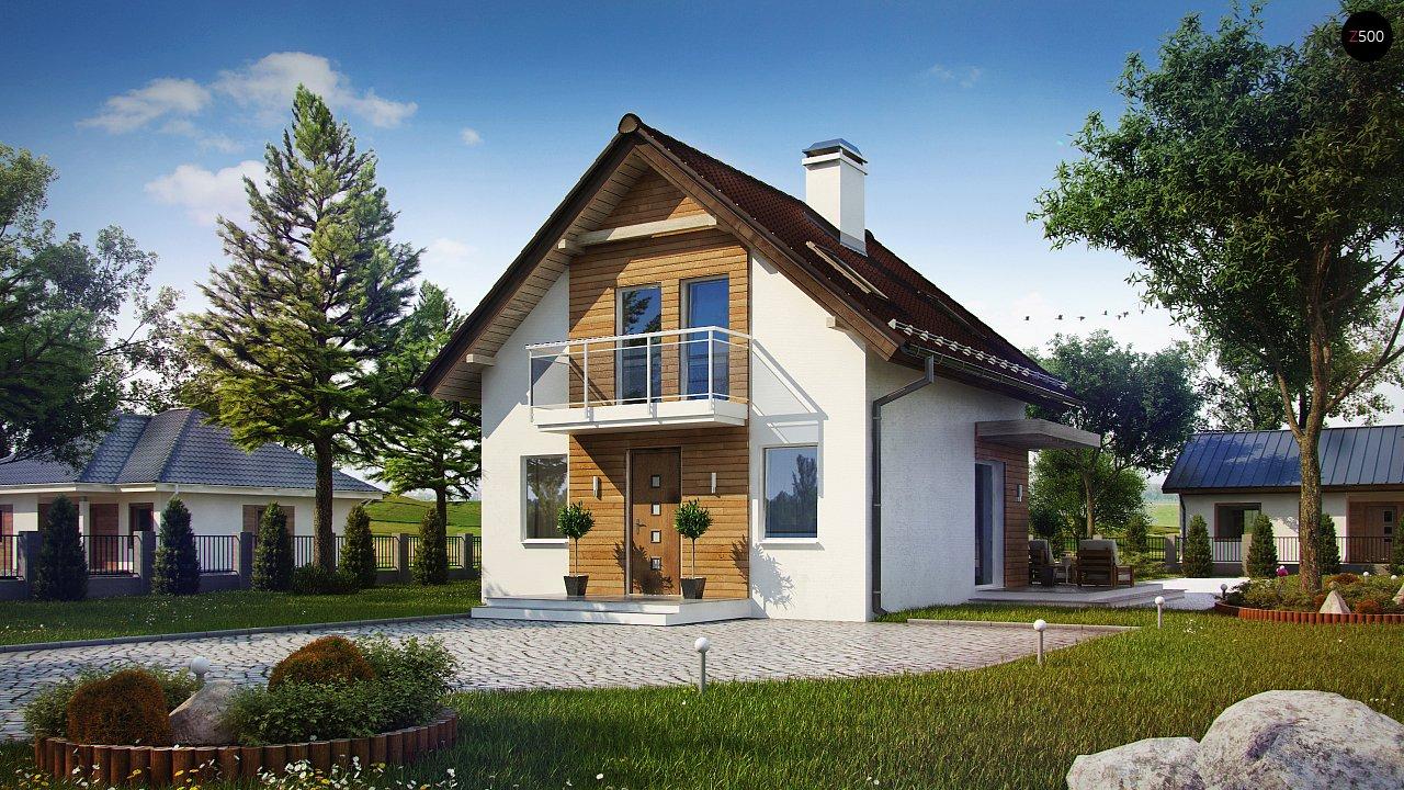 Компактный, аккуратный и стильный дом с двумя спальнями. - фото 1