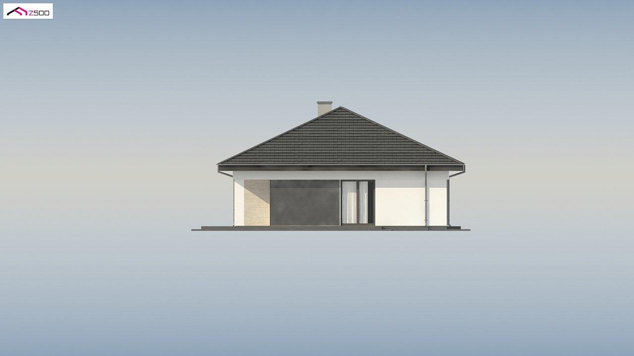 Проект компактного и функционального одноэтажного дома 18