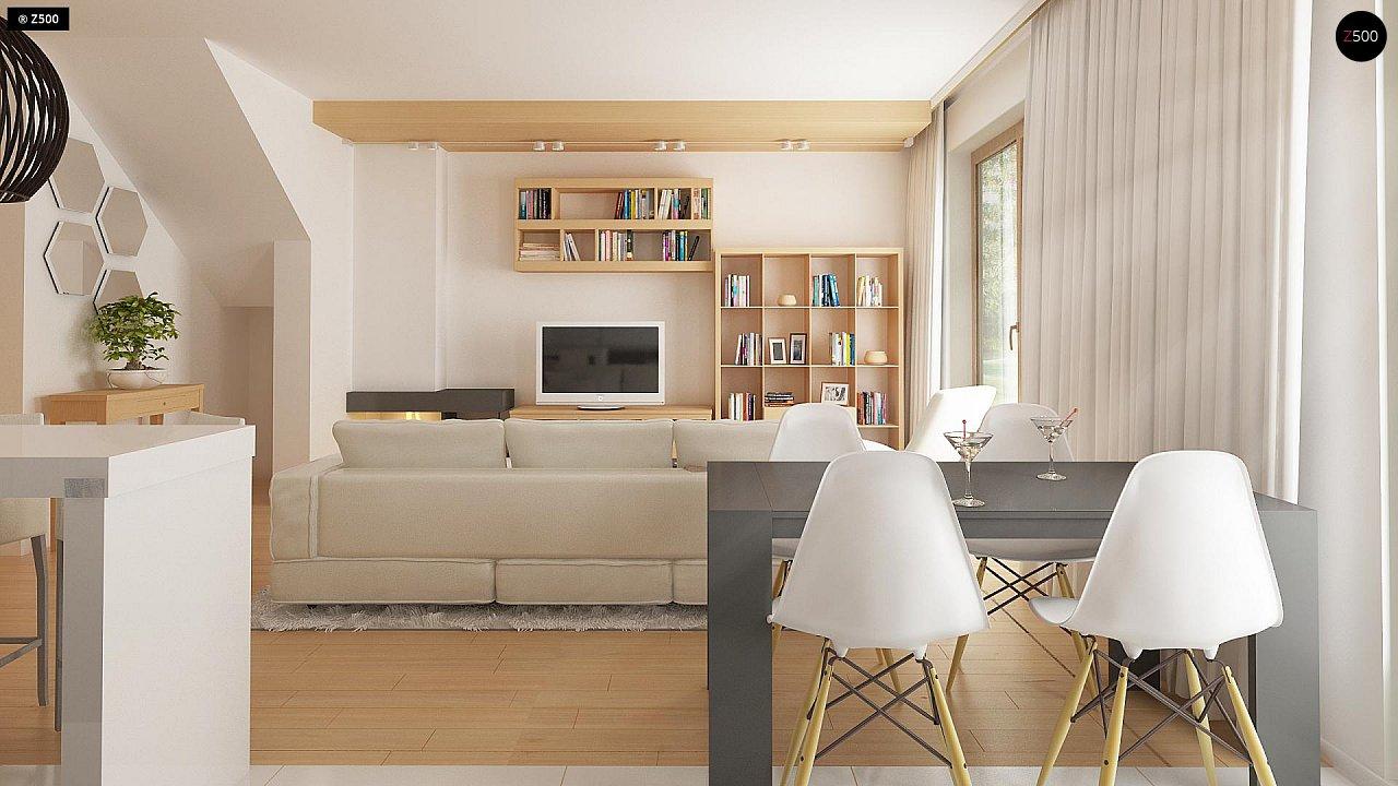 Новый вариант проекта Z38 - уютного двухэтажного дома. 4