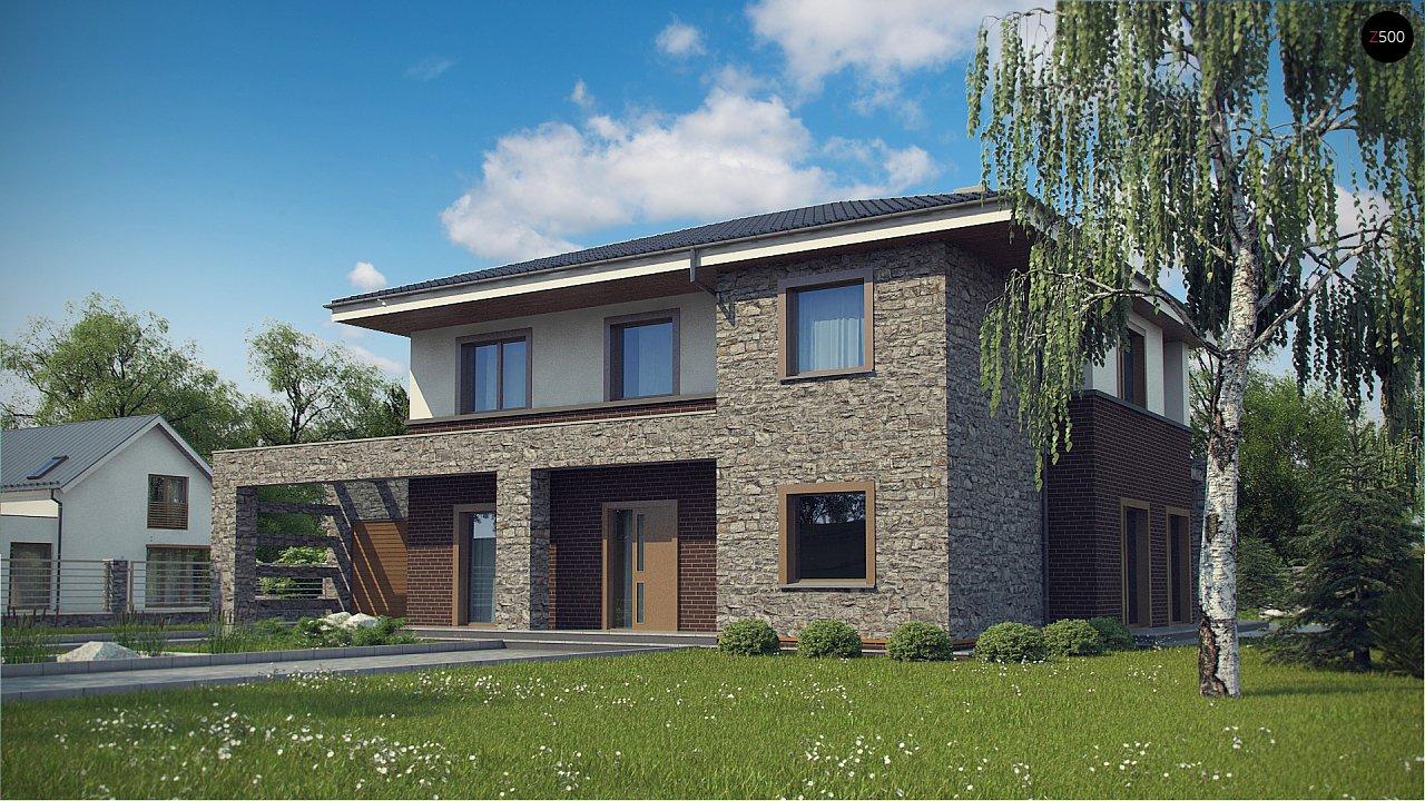 Проект дома с сауной в традиционном стиле - фото 2