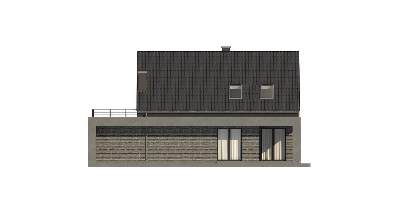 Проект комфортного дома в современном европейском стиле. 10