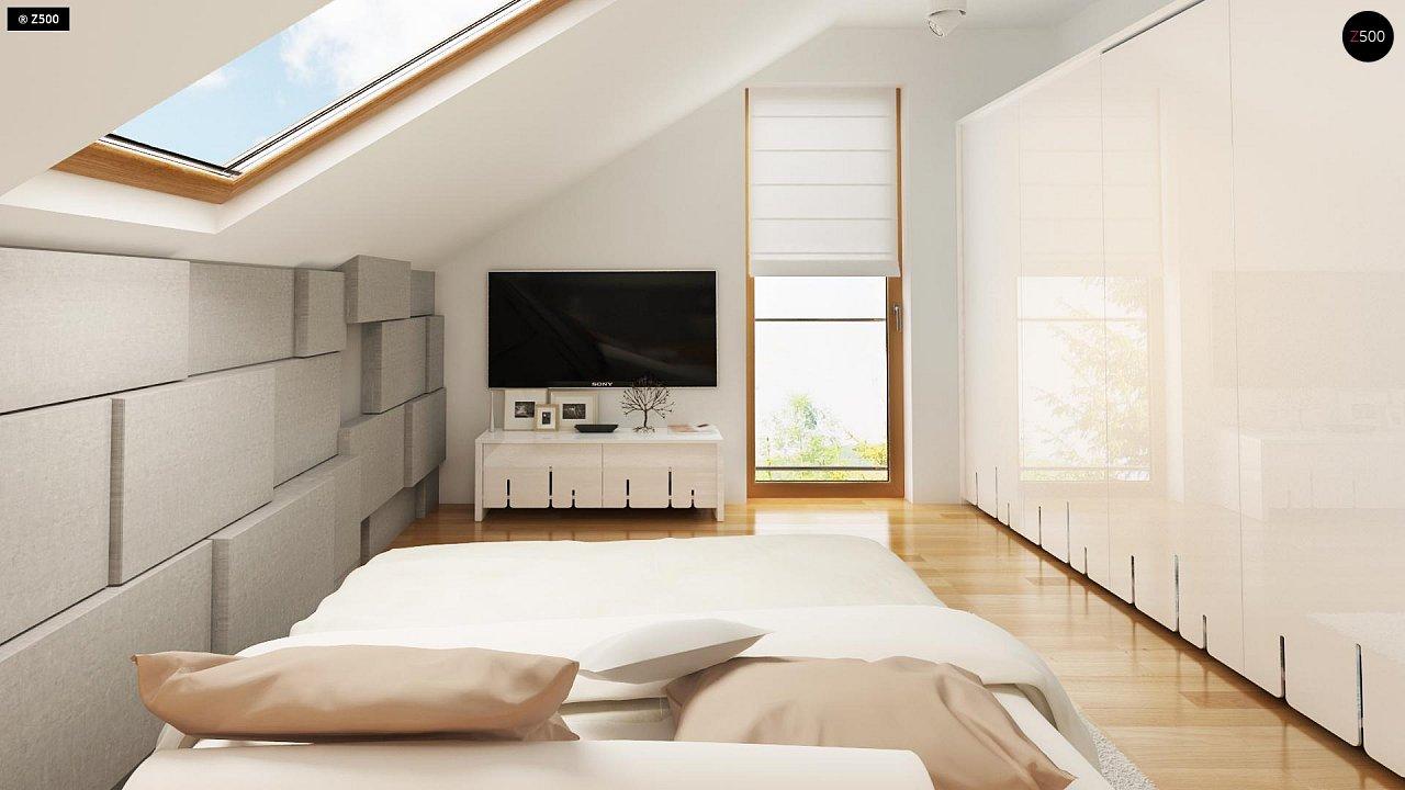 Компактный односемейный дом с дополнительной спальней на первом этаже. 9