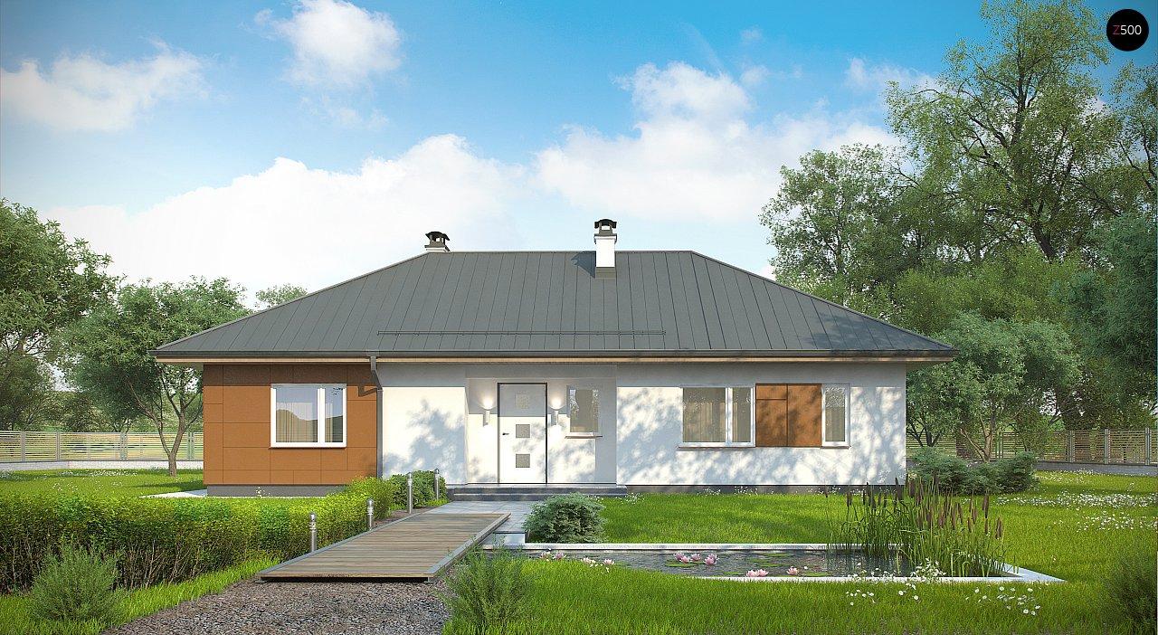 Комфортный одноэтажный дом в традиционном стиле. 3
