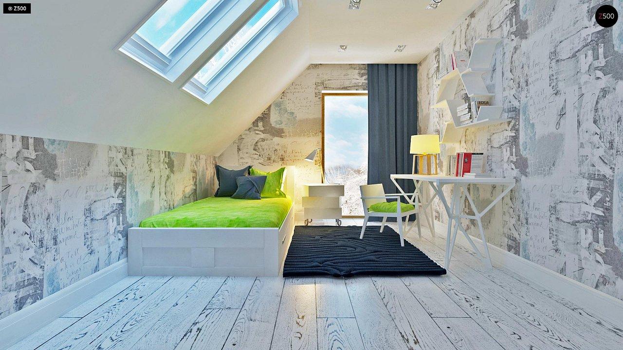 Практичный и уютный дом, идеально подходящий для вытянутого участка. 12