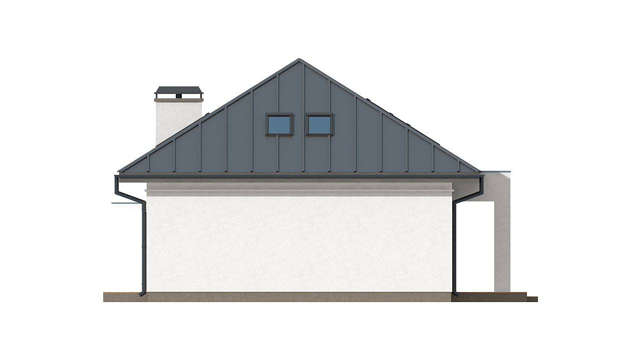 Версия проекта Z85 с современным оформлением фасадов. 6