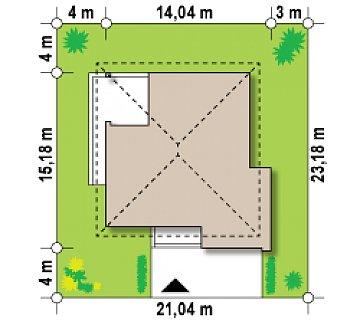 Элегантный комфортабельный двухэтажный дом с современными элементами архитектуры. план помещений 1
