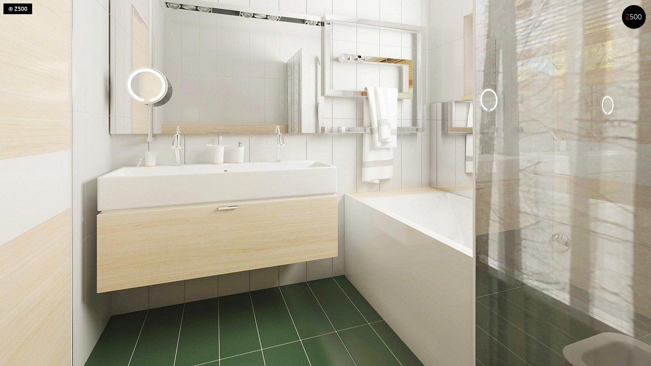 Прекрасное сочетание строгих минималистичных форм и уютного практичного интерьера. 22
