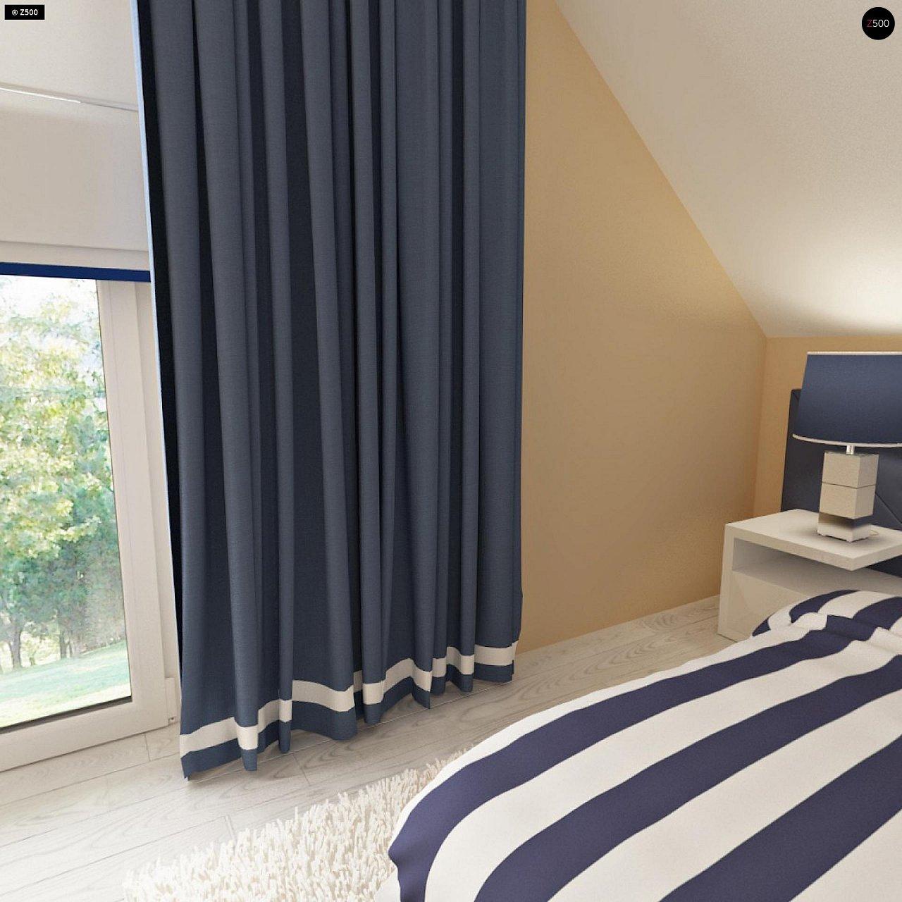 Дом с мансардным этажом, адаптированный для сейсмоопасных регионов. 14
