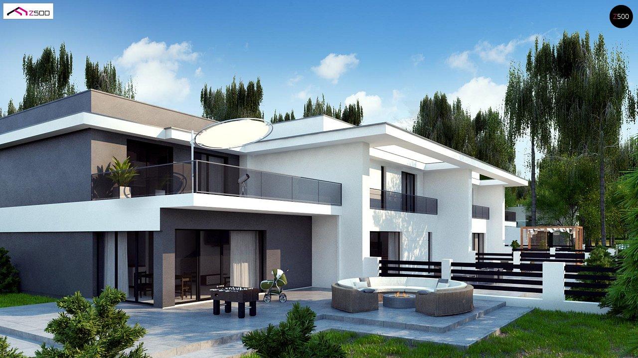 Современный двухсемейный дом с отдельными входами - фото 6