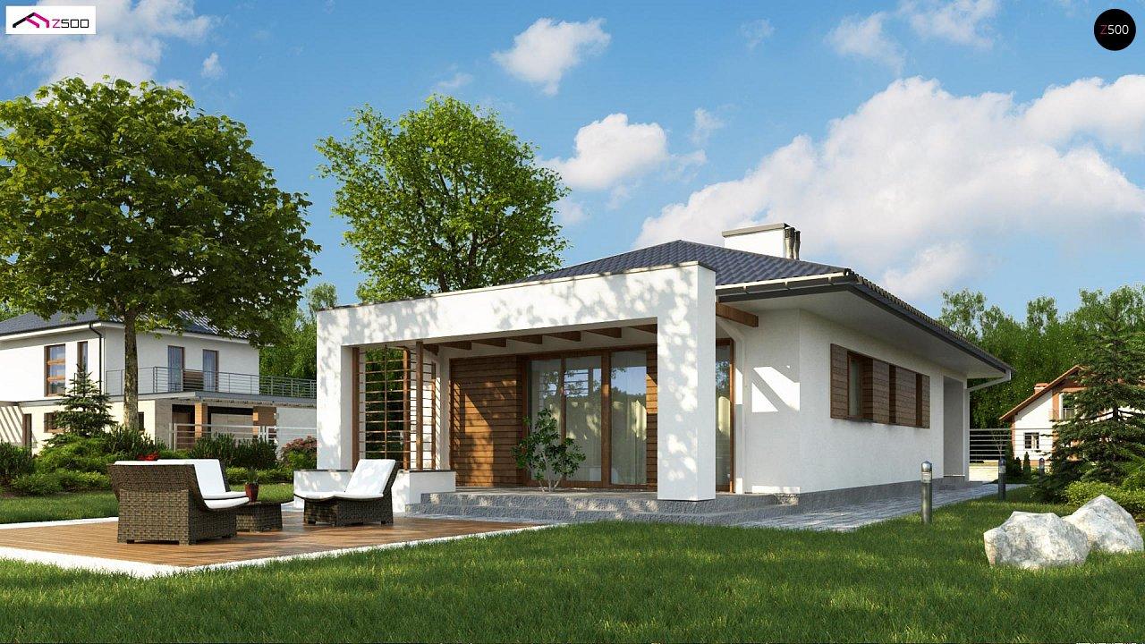 Одноэтажный функциональный дом для небольшой семьи - фото 2