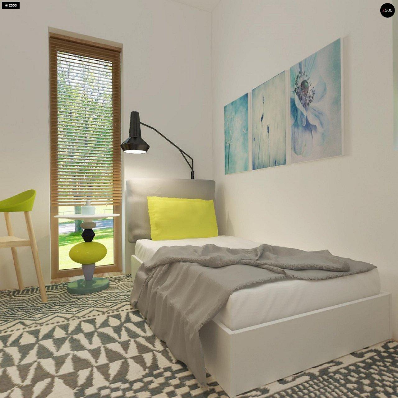 Небольшой дом из газобетона в стиле хай-тек — элегантный, практичный и экономичный. - фото 17