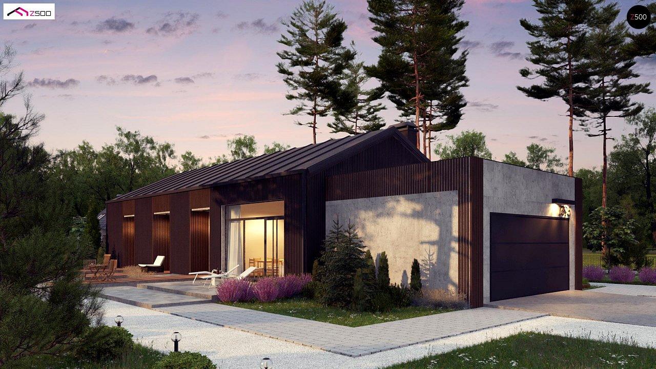 Дом в необычном современном стиле для большой семьи - фото 1