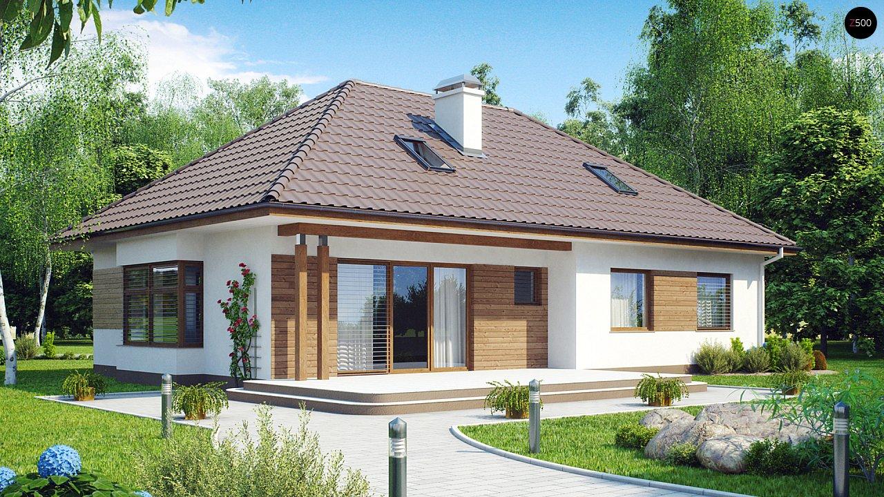 Проект традиционного дома с возможностью адаптации чердачного помещения. 2