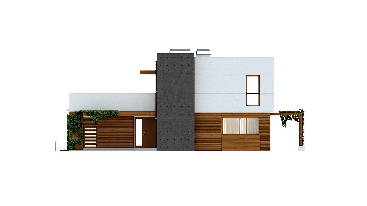 Комфортный современный дом с гаражом для двух авто и обширной террасой на втором этаже. - фото 24