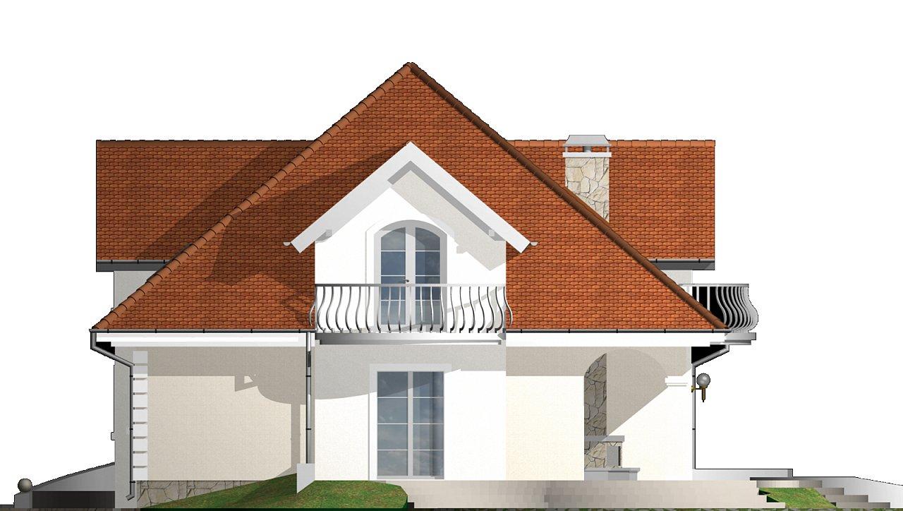 Версия проекта Z18 c кирпичной облицовкой фасадов. - фото 24