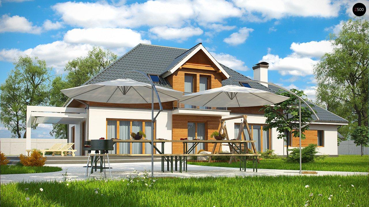 Проект дома Z50 в современной интерпретации. - фото 3
