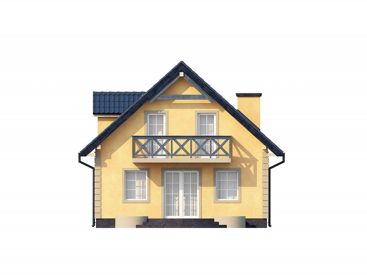 Очаровательный и практичный дом с мансардой в традиционном стиле. 22