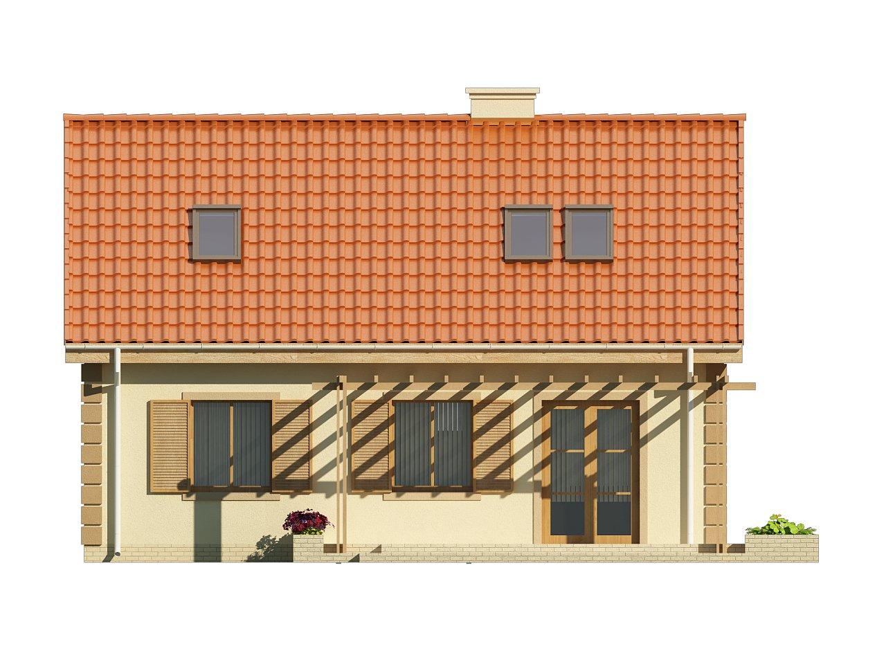 Функциональный и уютный дом с дополнительной спальней на первом этаже. Простой и экономичный в строительстве. 11