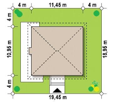 Версия проекта Zx2 c измененной планировкой план помещений 1