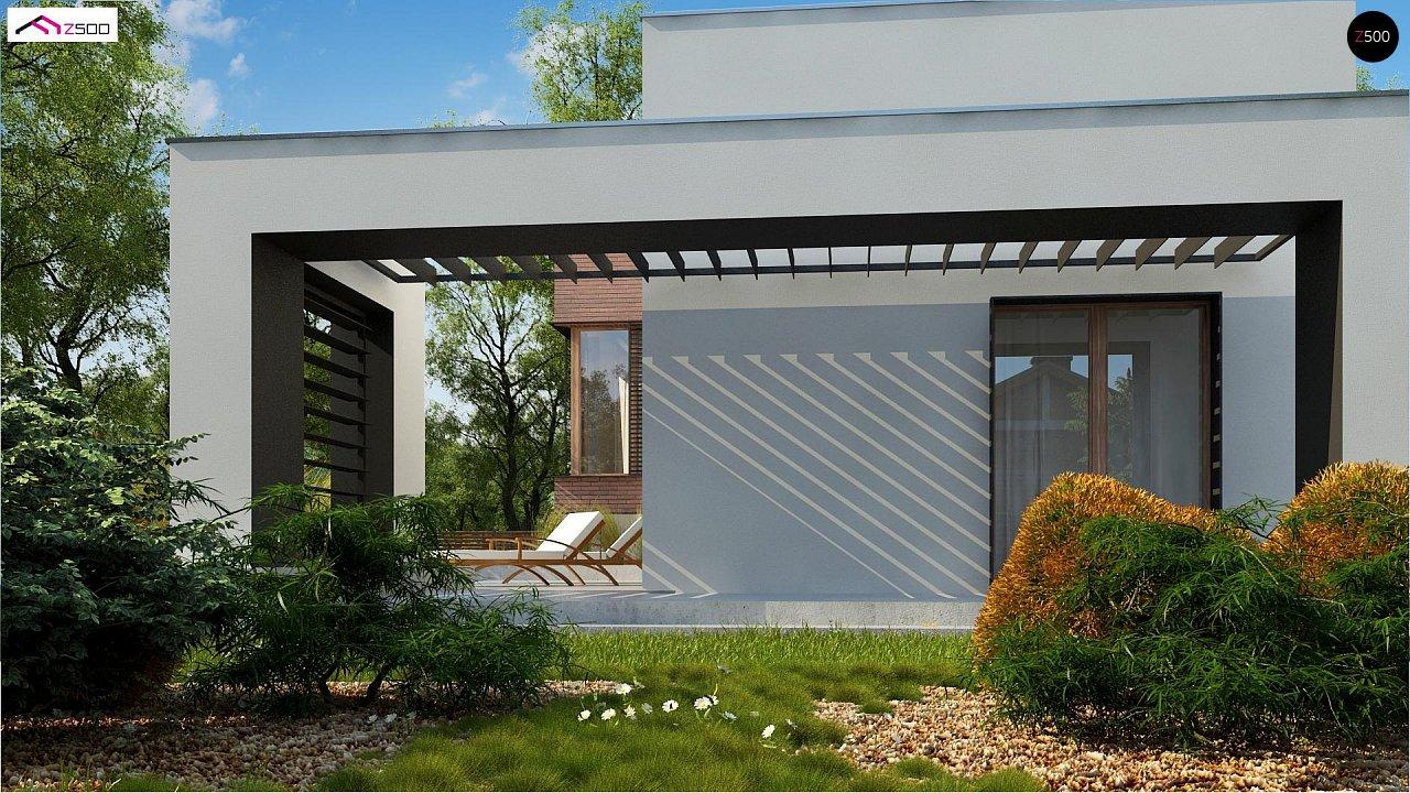 Современный дом минималистичного дизайна с подвалом - фото 9