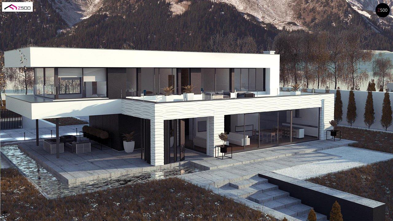 Просторный современный двухэтажный дом 5