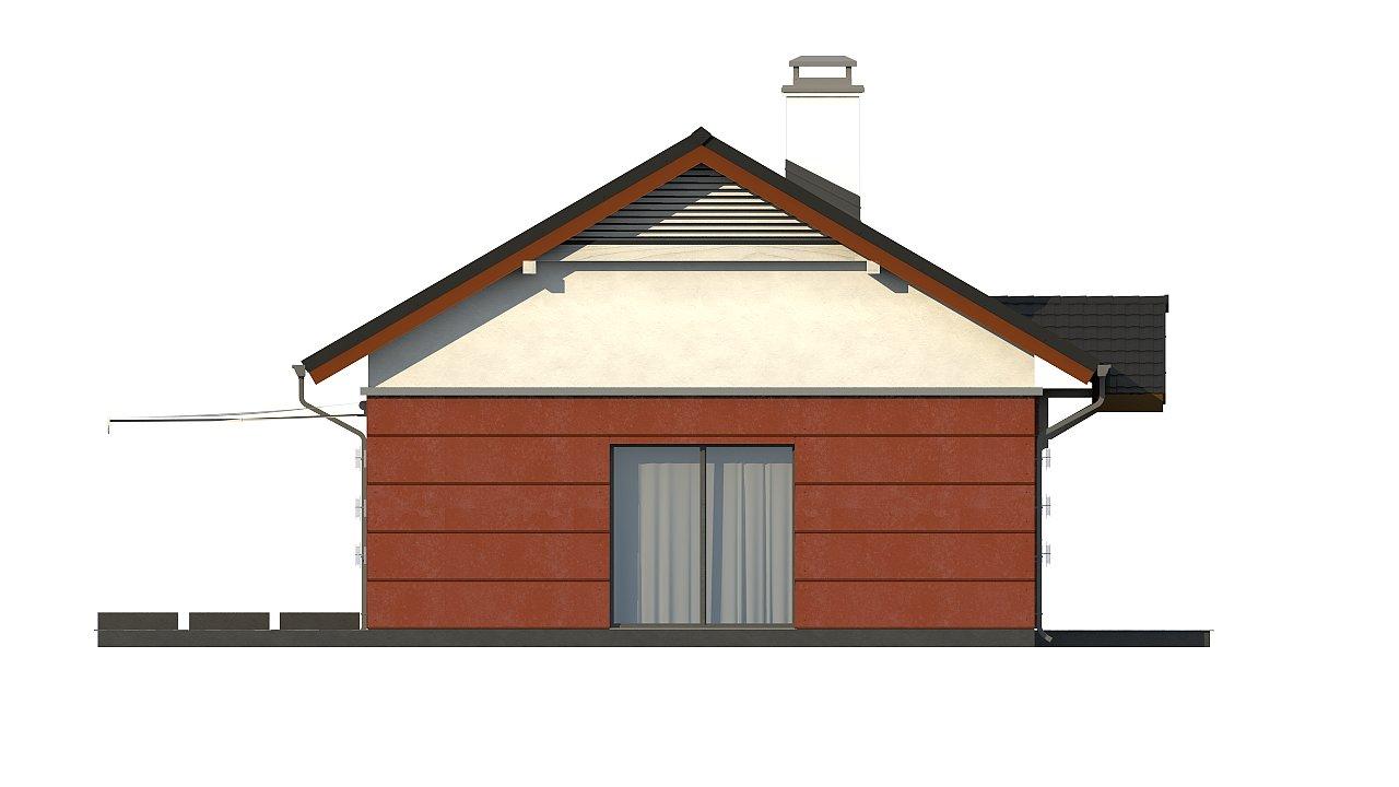 Аккуратный одноэтажный дом в классическом стиле. - фото 26