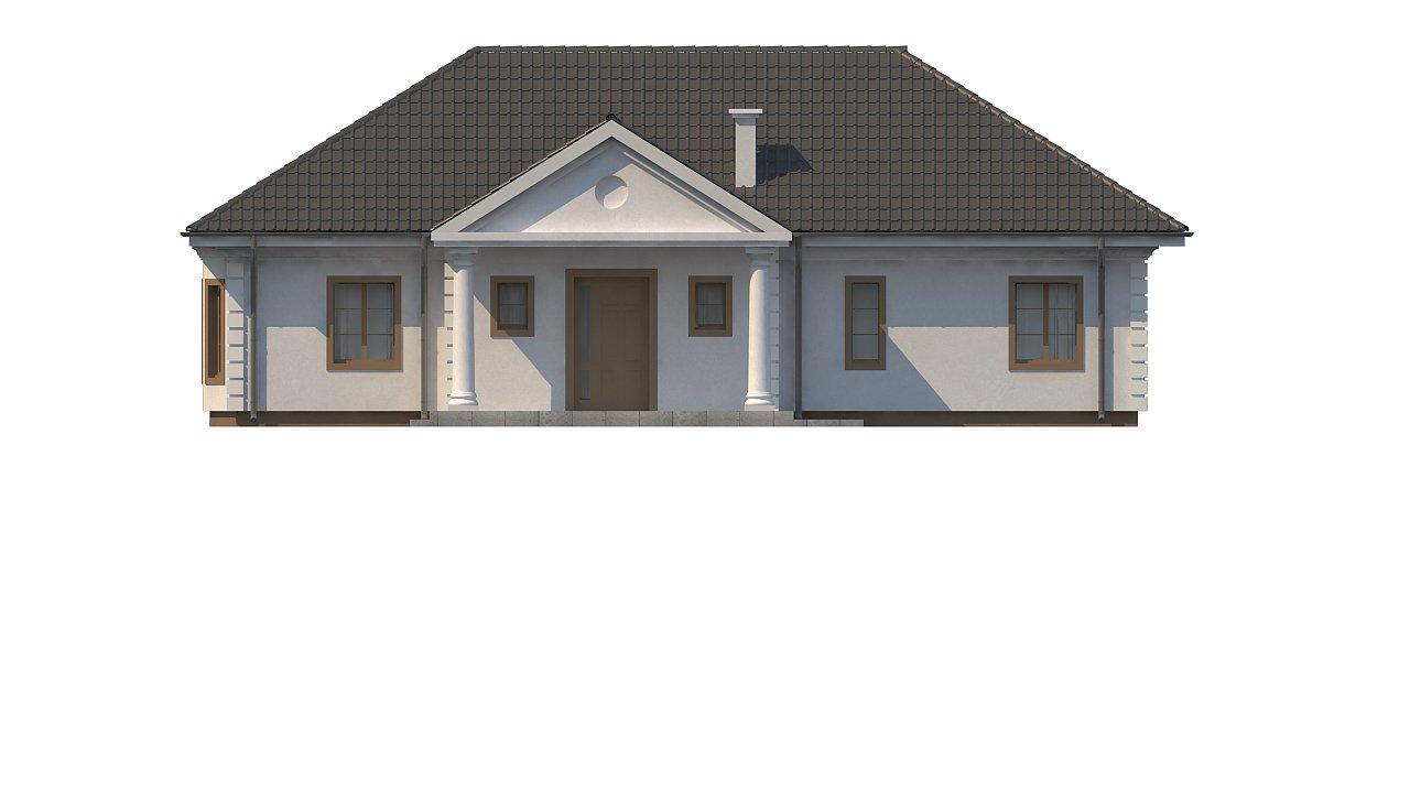 Зеркальный вариант увеличенного дома Z2 - фото 12