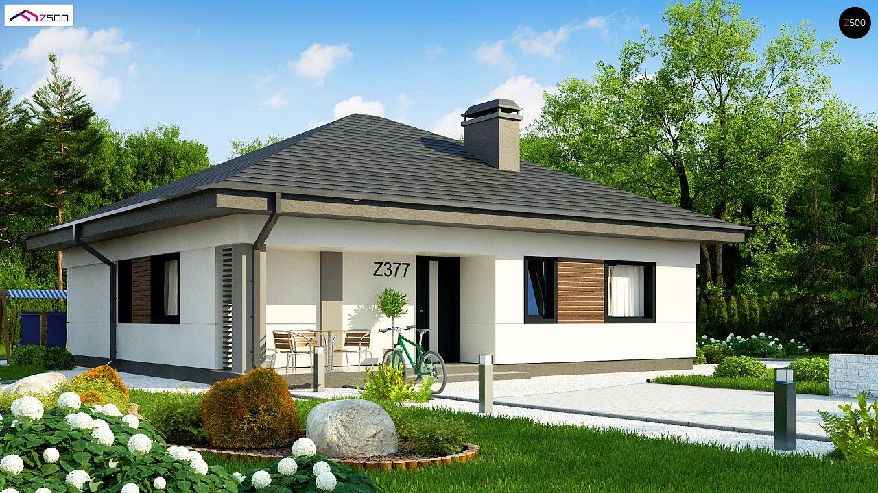 Увеличенная версия компактного дома z377 - фото 2