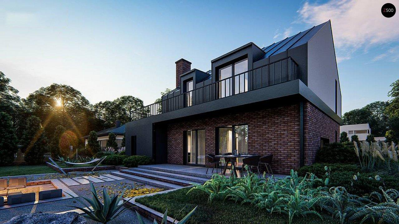 Дом с мансардой, гаражом и большой террасой 8