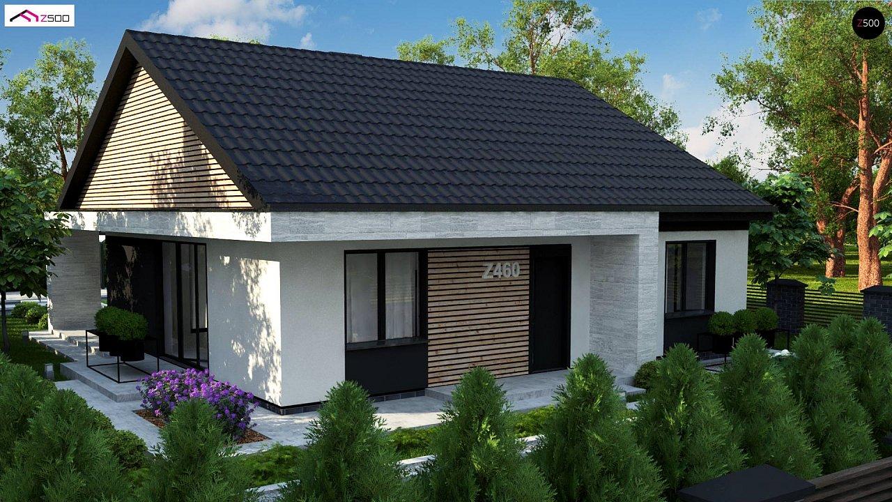 Проект дома с современным дизайном и одноуровневым функциональным интерьером. - фото 5