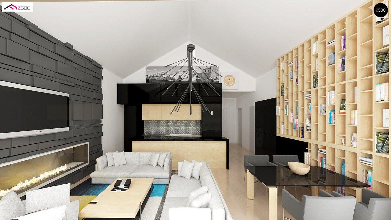 Функциональный компактный дом интересного дизайна. - фото 6