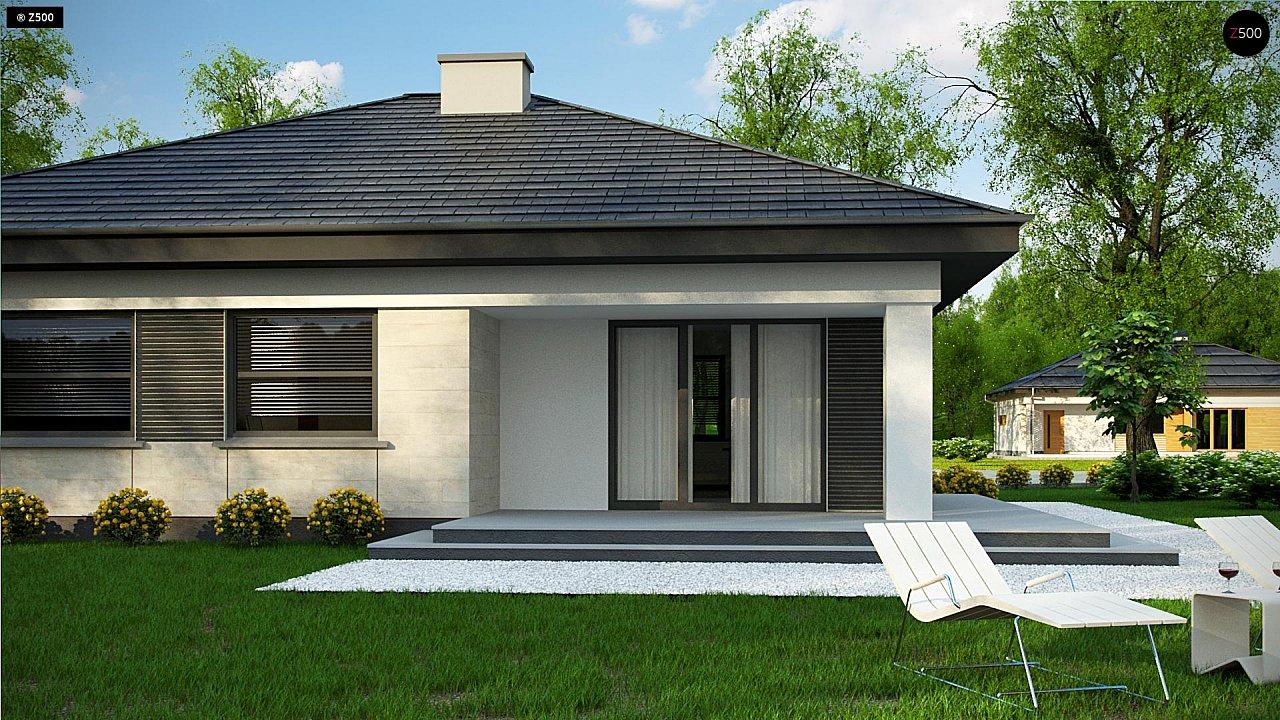 Проект компактного и функционального одноэтажного дома 4