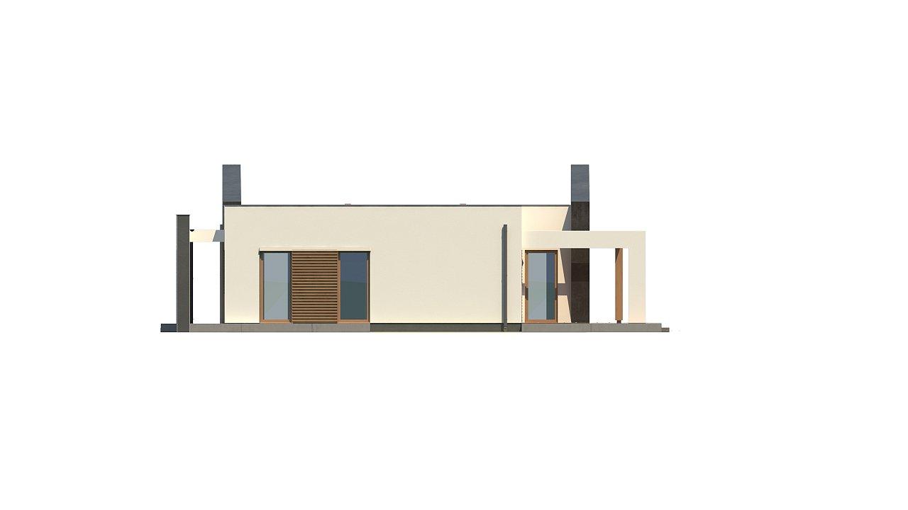Одноэтажный дом исключительного современного дизайна. - фото 30