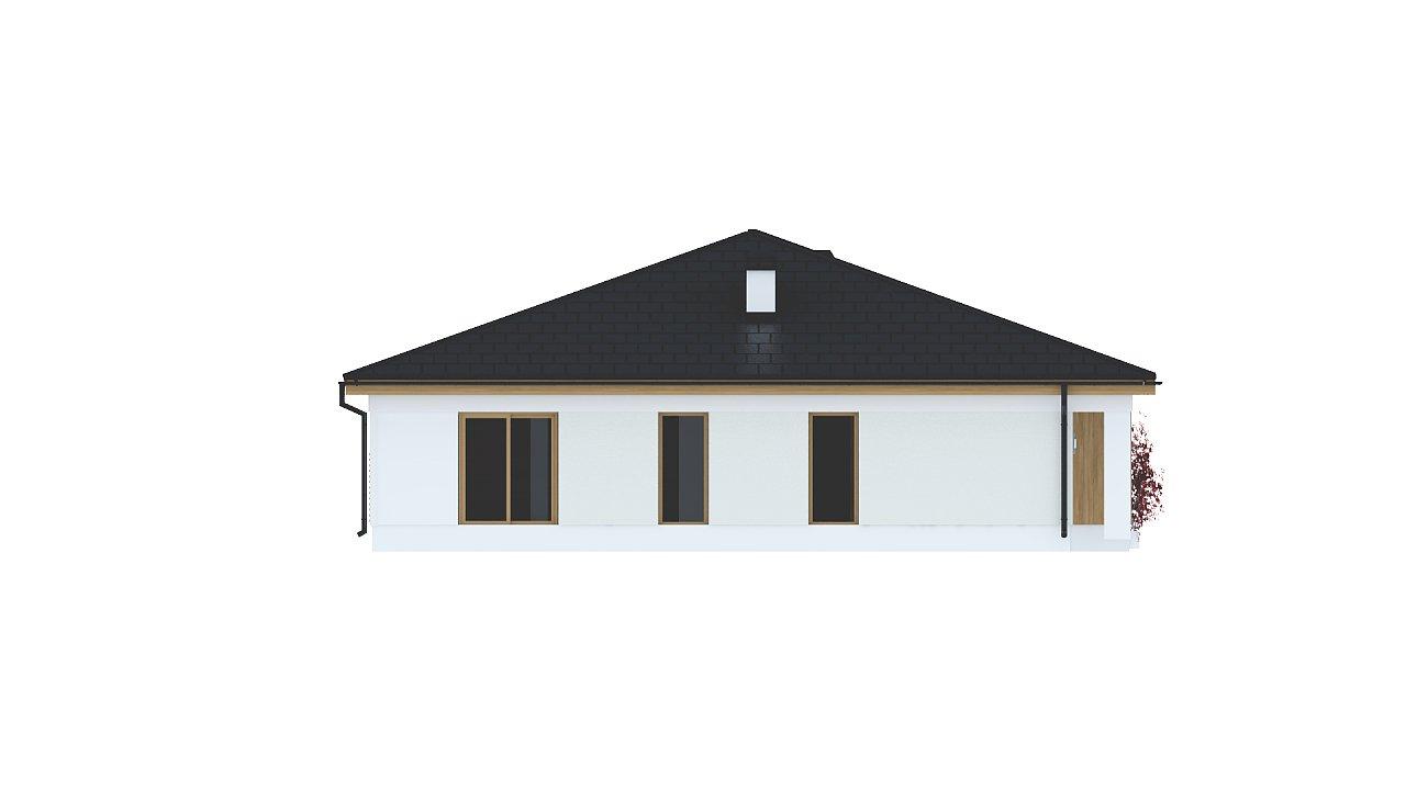 Практичный одноэтажный дом с четырьмя спальнями и гаражом. 22