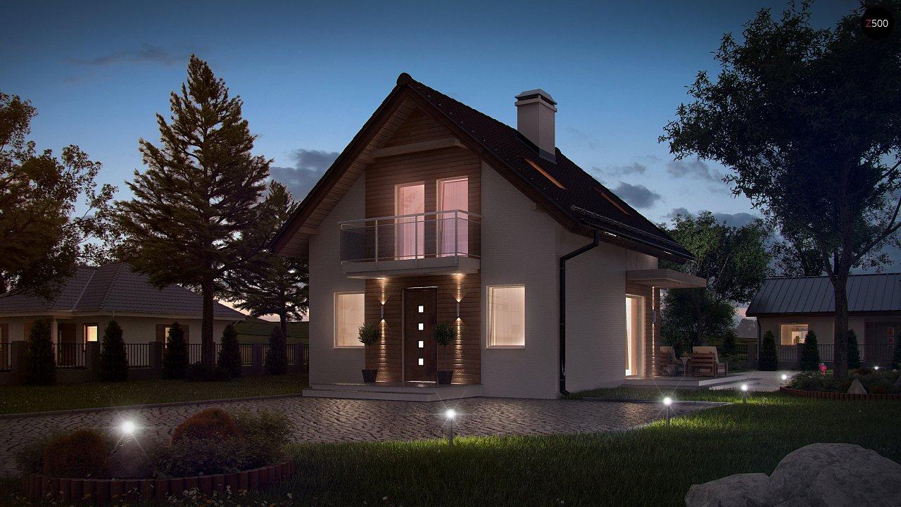Компактный, аккуратный и стильный дом с двумя спальнями. - фото 3