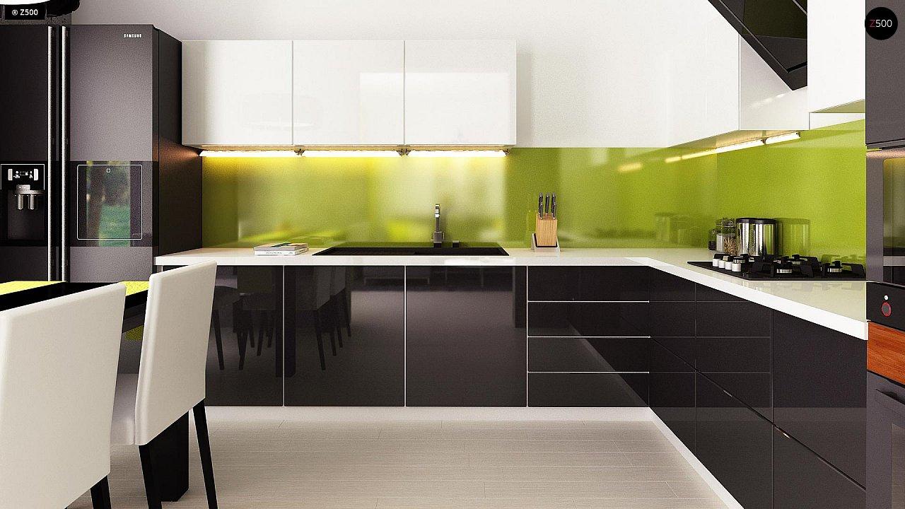 Компактный и удобный дом традиционной формы, подходящий, также, для узкого участка. 8