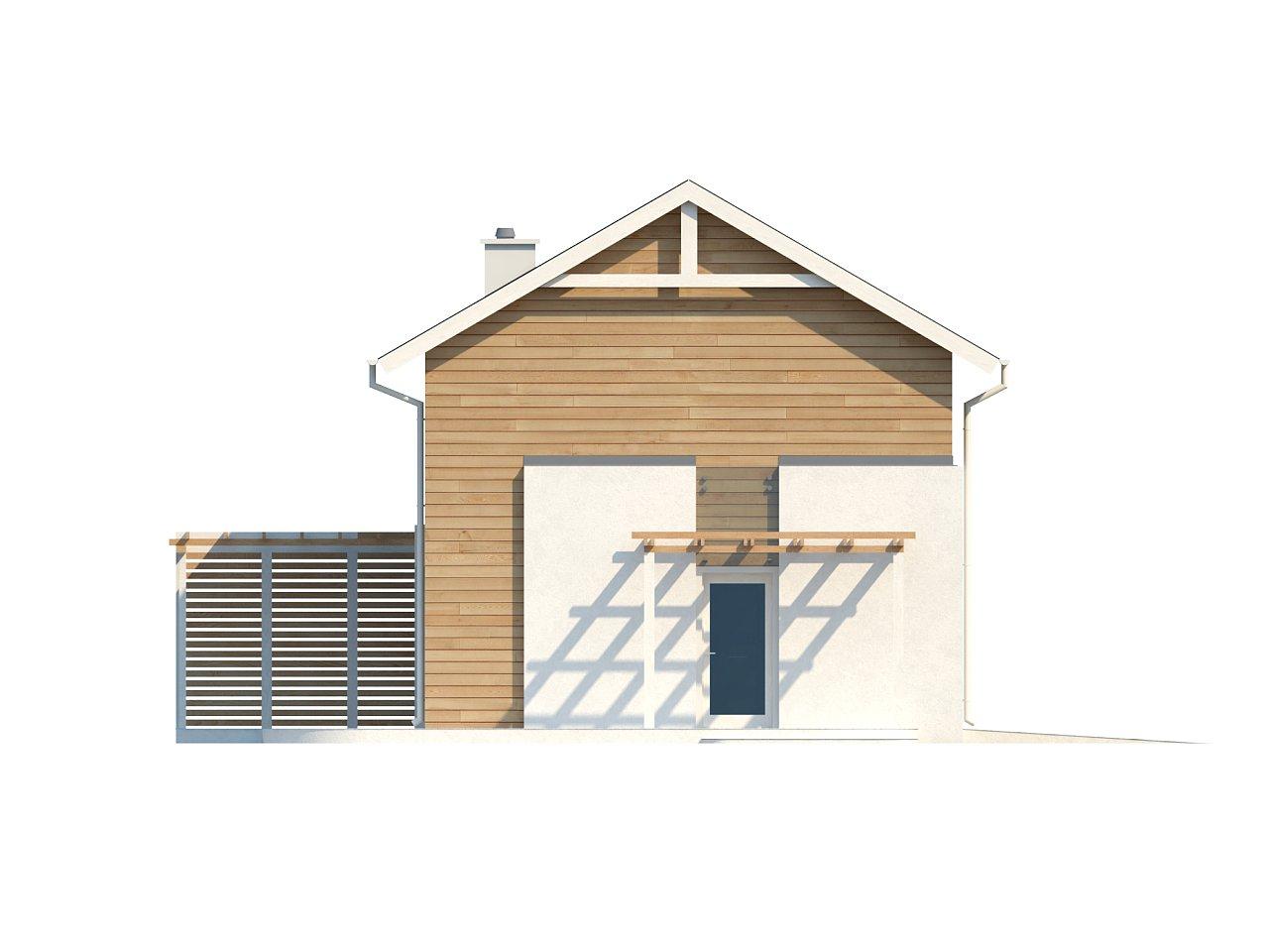 Выгодный в строительстве и эксплуатации двухэтажный дом простой формы. - фото 4