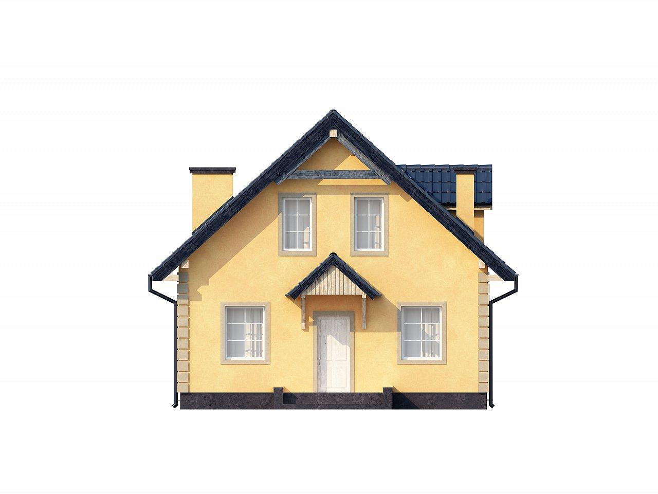 Очаровательный и практичный дом с мансардой в традиционном стиле. - фото 21