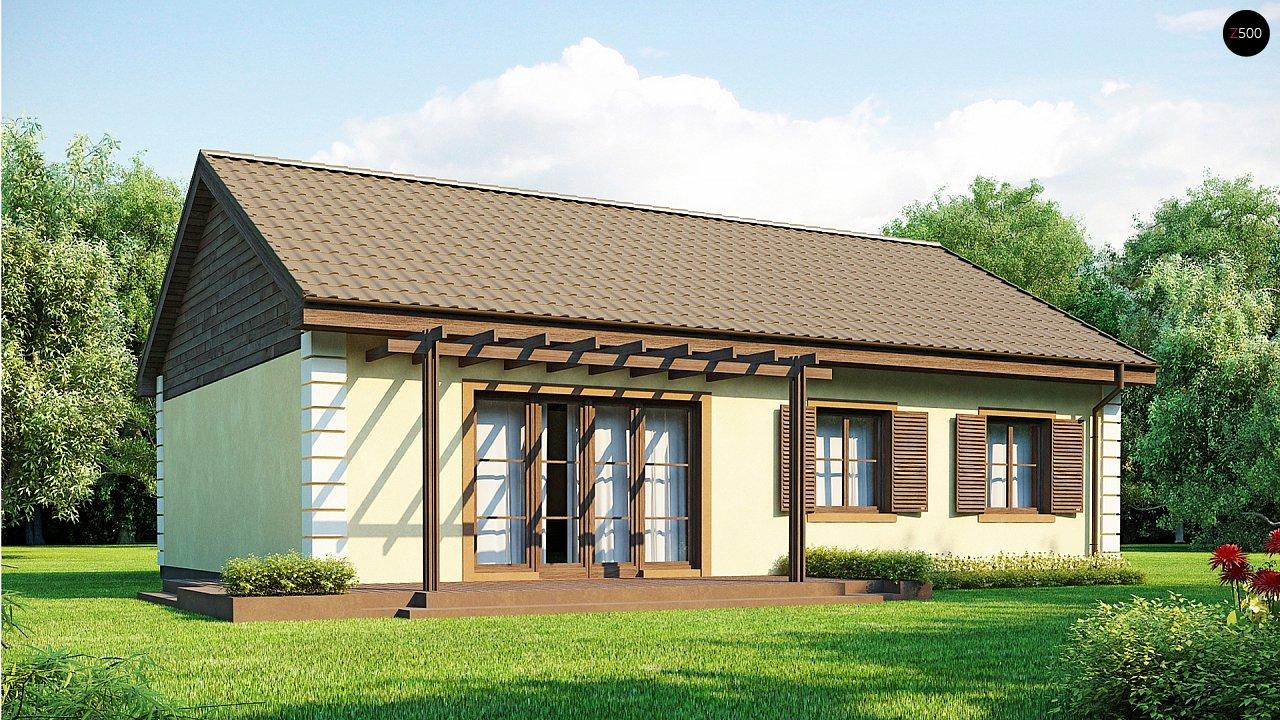 Выгодный и простой в строительстве дом полезной площадью 100 м2. 2