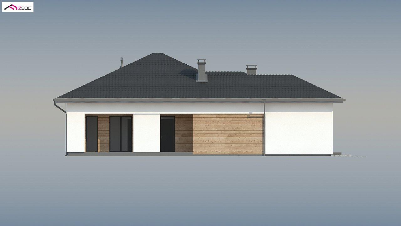Проект комфортного одноэтажного дома в европейском стиле. 7