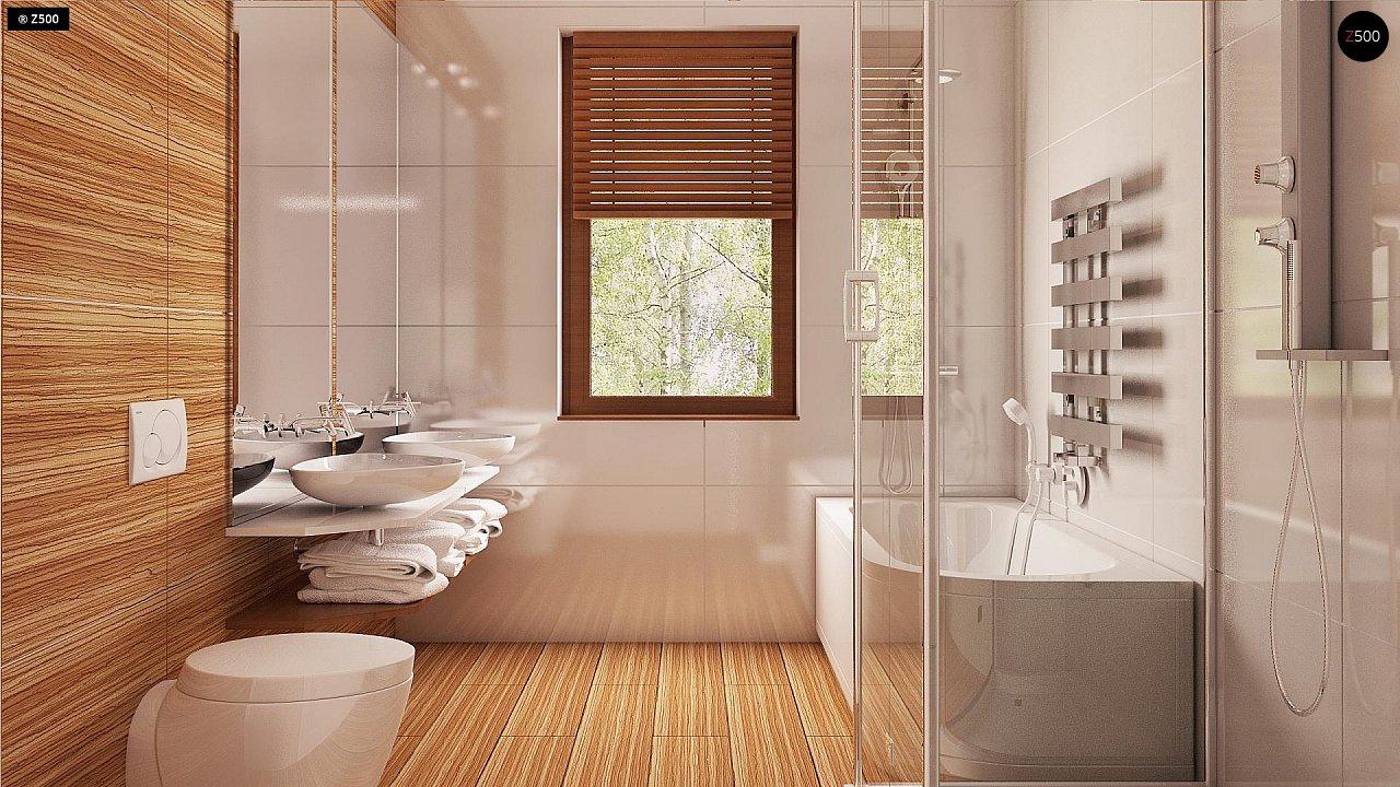 Проект одноэтажного классического дома адаптированного для каркасной технологии строительства. - фото 13
