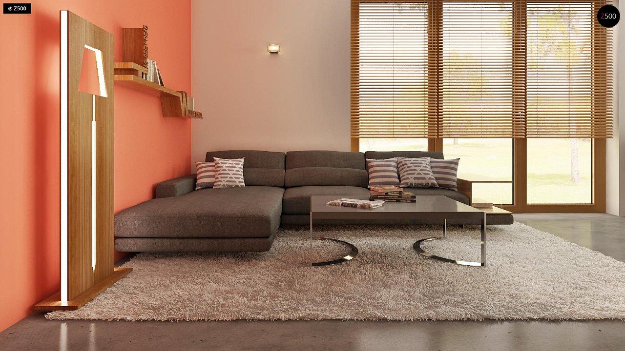 Компактный, аккуратный и стильный дом с двумя спальнями. - фото 6