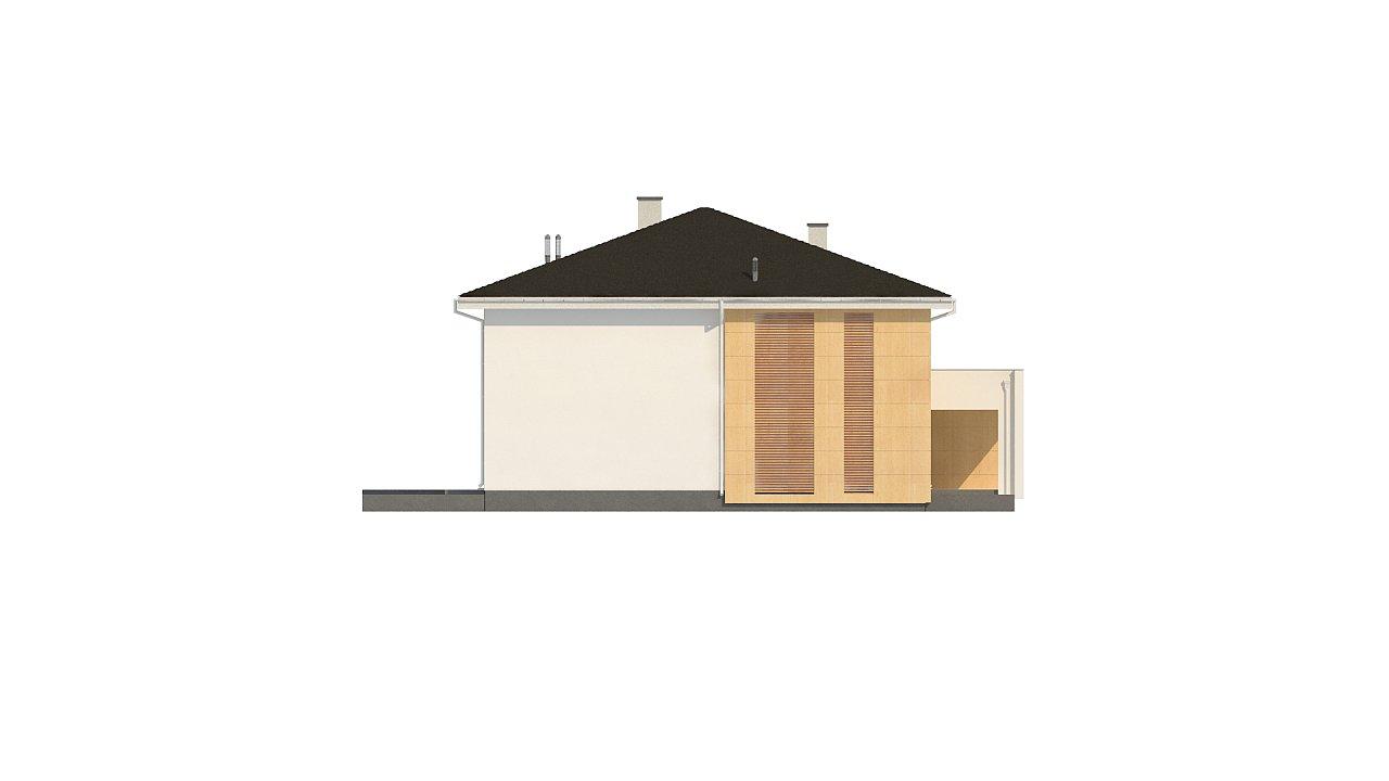 Проект комфортабельного двухэтажного коттеджа современного дизайна 6