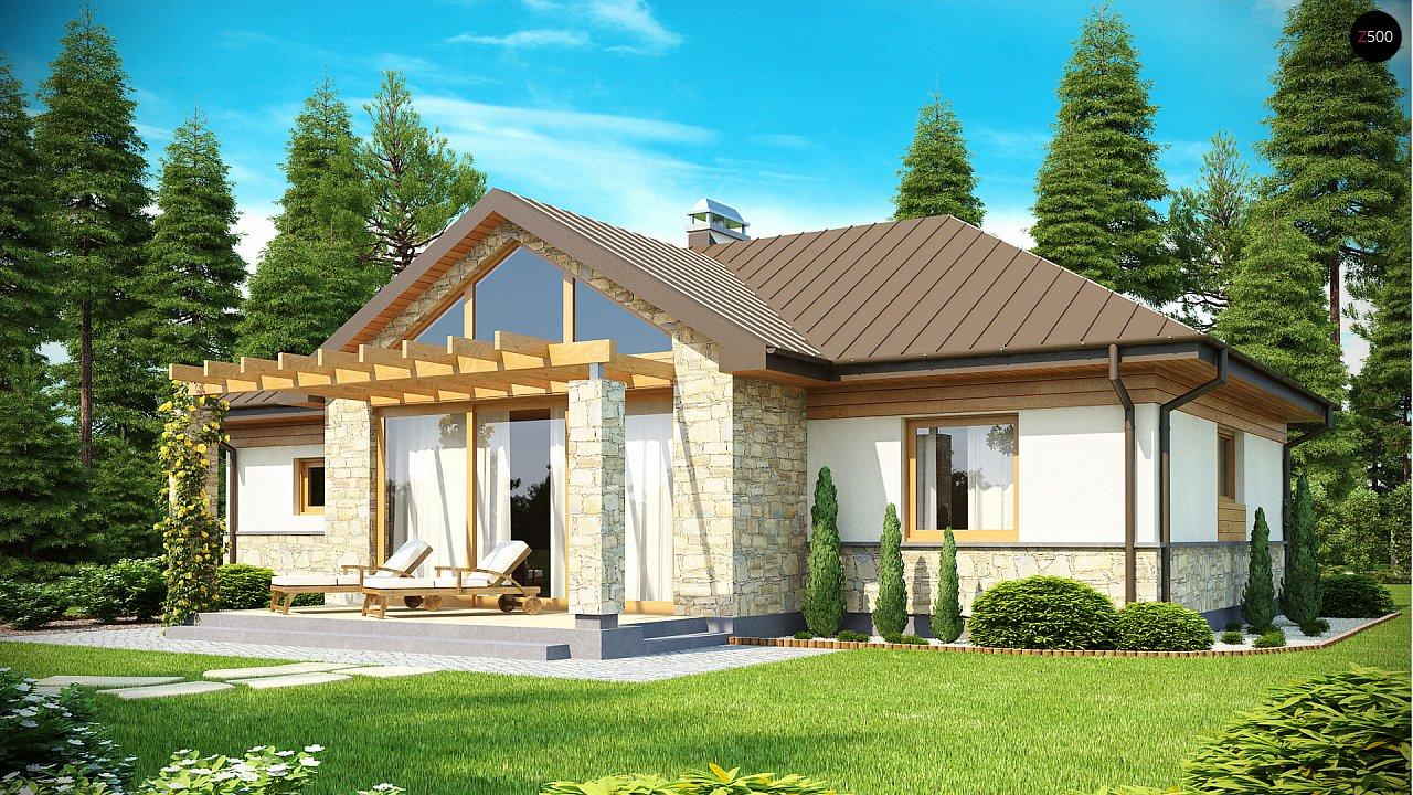 Функциональный компактный дом интересного дизайна. - фото 1