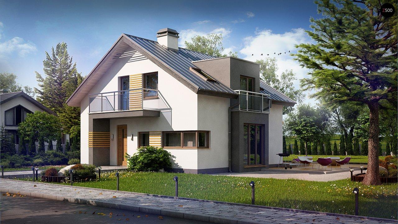 Дом традиционной формы с современными элементами в архитектуре. Уютный и функциональный интерьер. - фото 2