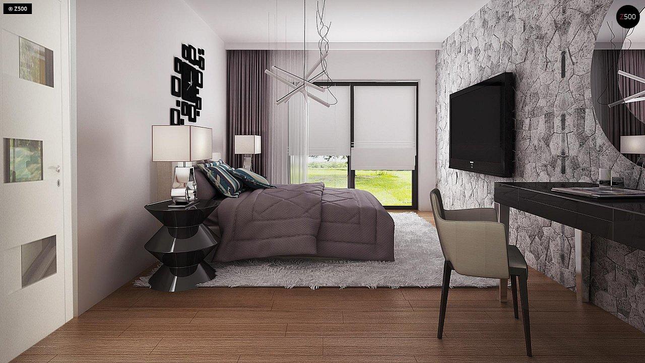Проект стильного одноэтажного дома с функциональной планировкой - фото 15