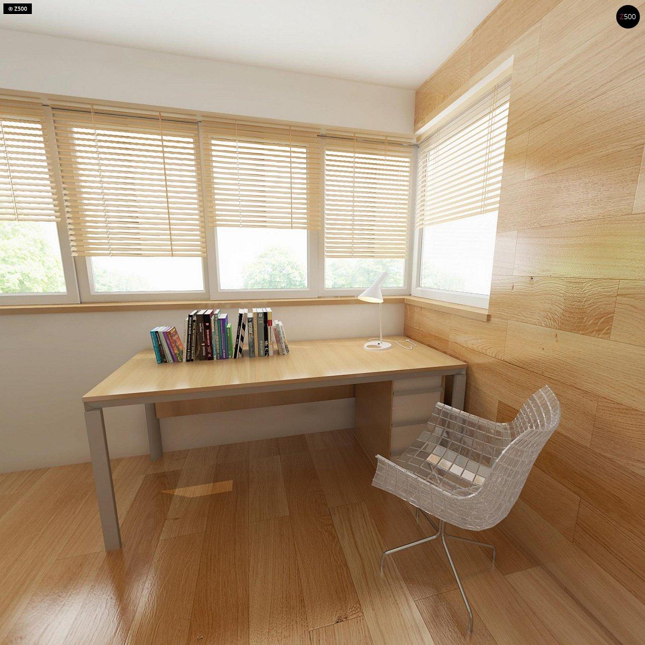 Добротный особняк модернистского характера с большой площадью остекления. - фото 12