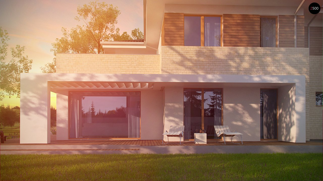 Современный комфортный двухэтажный дом с баней - фото 9
