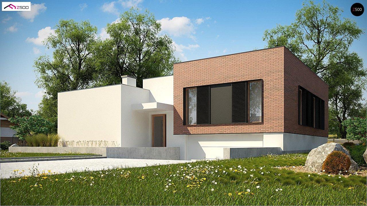 Современный дом минималистичного дизайна с подвалом - фото 3