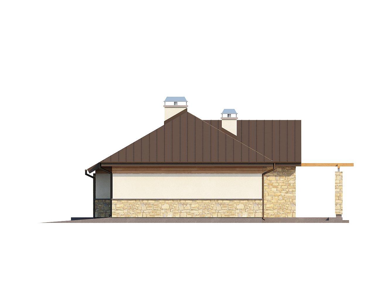 Функциональный компактный дом интересного дизайна. - фото 13